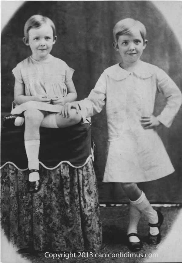 Sisters, Doris and Beatrice