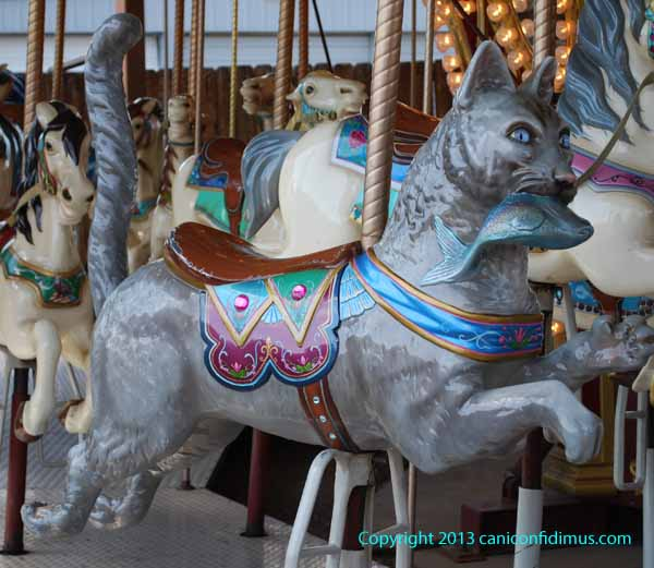 Merry-go-round at Royal Gorge, Colorado
