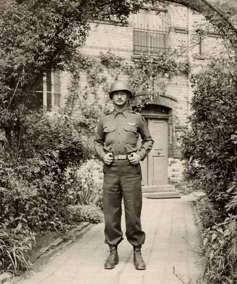 Lt. Grady Paris, Europe, WW II