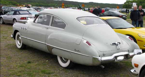 buick super from rear