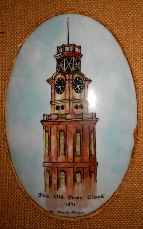 venita clock tower